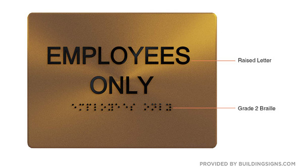 Employees ONLY -,