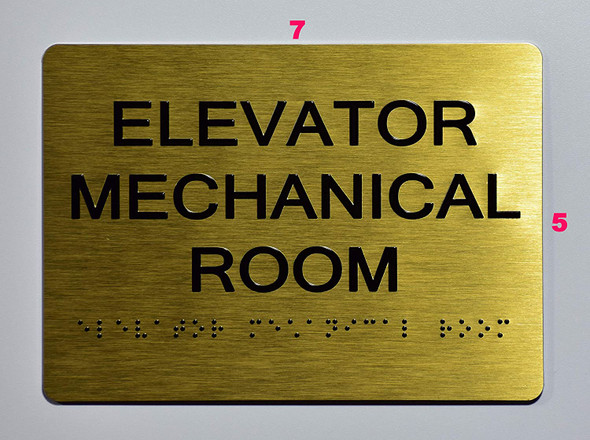 Elevator Mechanical Room -