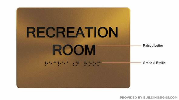 Recreation Room - ,