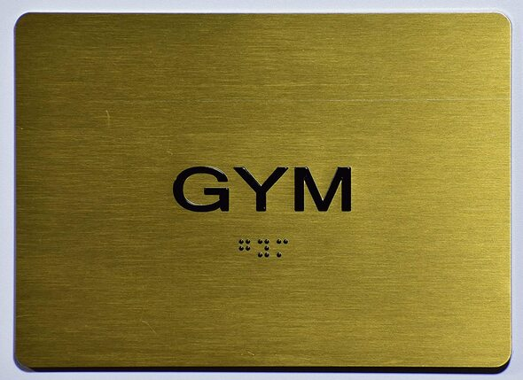 Gym  Signage - ,