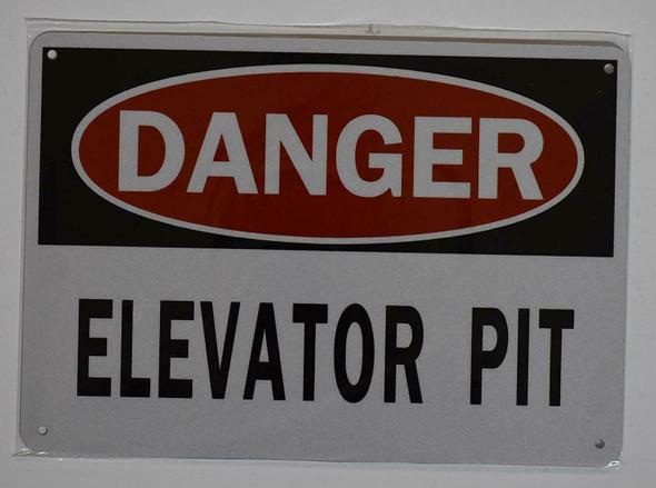 Danger Elevator Pit