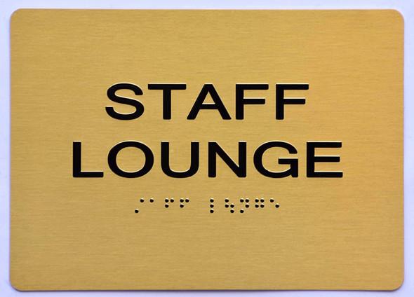 Staff Lounge  Signage - ,
