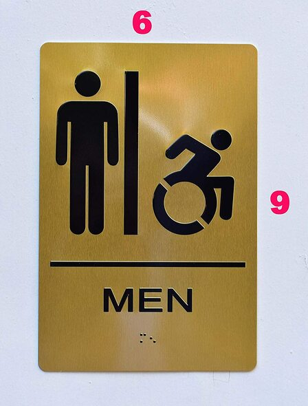 Men ACCESSIBLE Restroom
