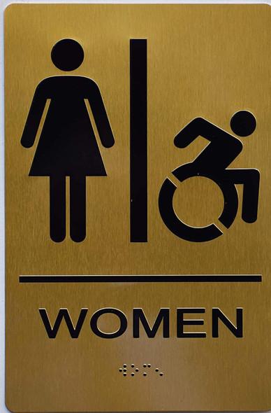 Women ACCESSIBLE Restroom   ,