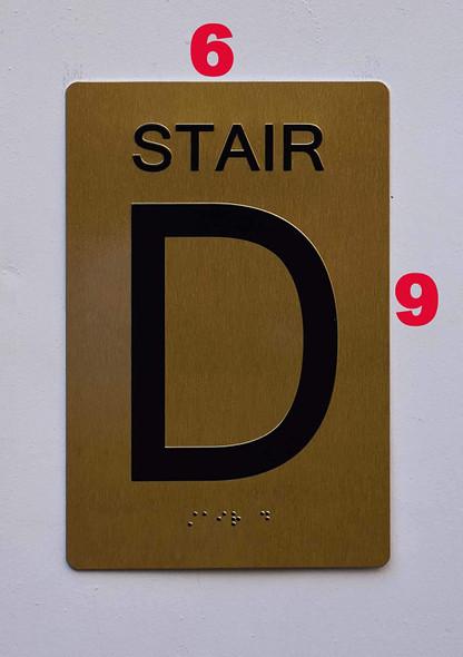 Stair D -  ,