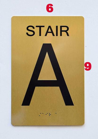 Stair A -  ,