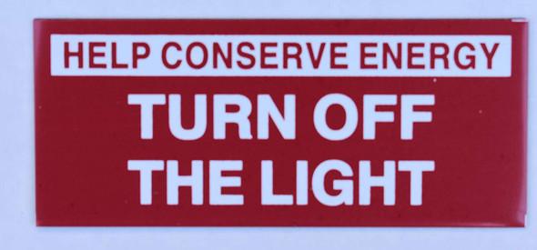 2 PCS Turn Off The Light
