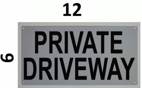 Private Driveway  Signage
