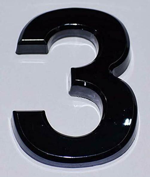 Apartment Number  Signage/Mailbox Number  Signage, Door Number  Signage. Number 3