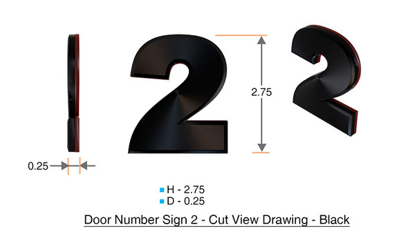Apartment Number /Mailbox Number , Door Number . Number 2
