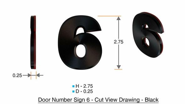Apartment Number /Mailbox Number , Door Number . Number 6