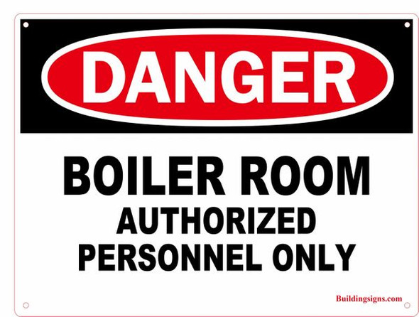 DANGER: BOILER ROOM