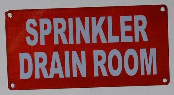 Sprinkler Drain Room