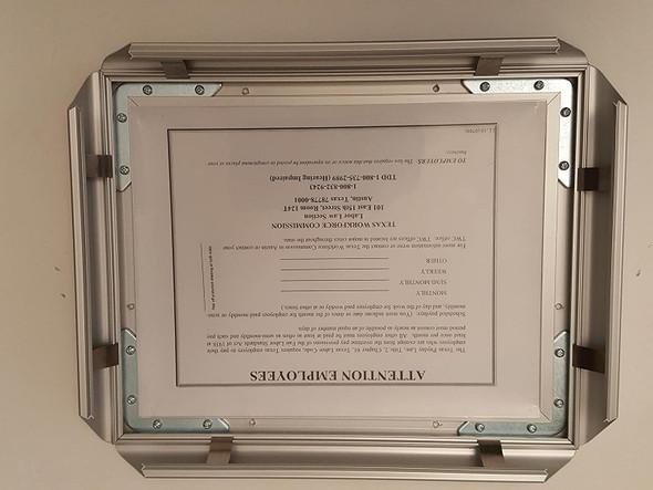 TEXAS WORKFORCE COMMISSION NOTICE FRAME