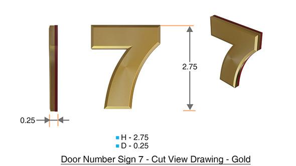Apartment Number /Mailbox Number , Door Number . Number 7 ,3D,