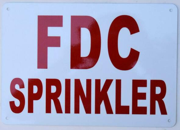 FDC Sprinkler  ,  !!,