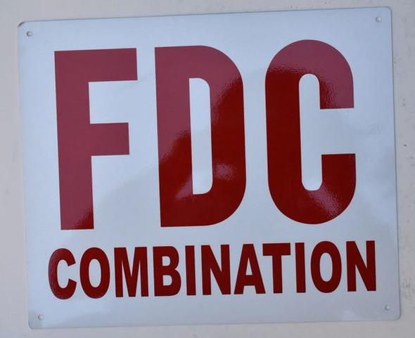FDC Combination Signage