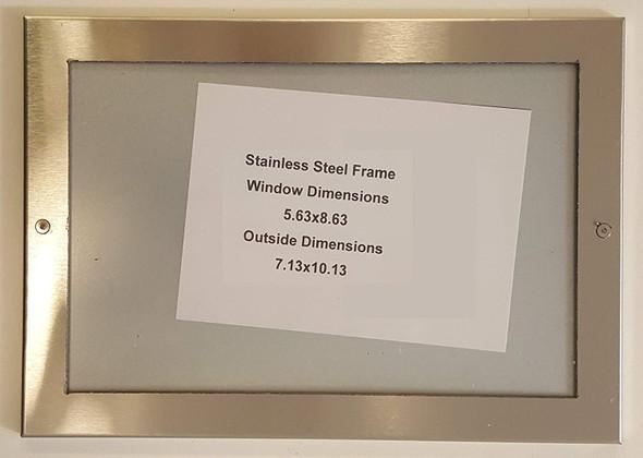 HPD -Elevator Certificate Frame