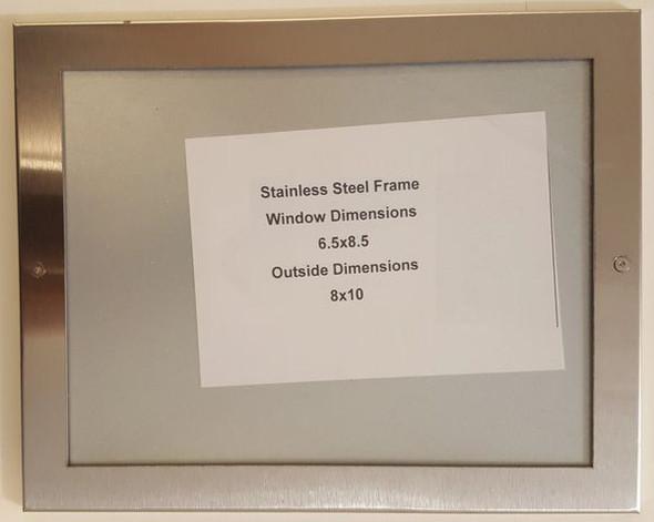 Elevator Permit Frame  Signage