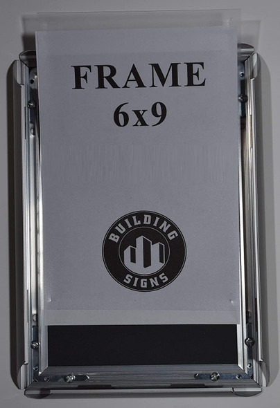Elevator Certificate Notice Frame-Heavy Duty