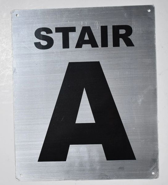Stair A  Signage
