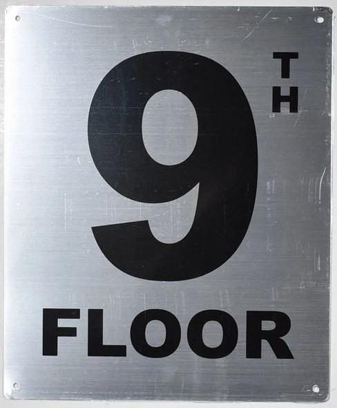 hpd floor number  Signage