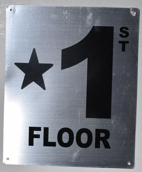 Star 1 Floor  Signage