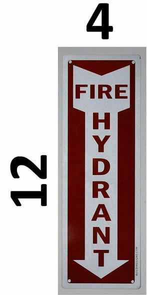 Fire Hydrant Arrow Down