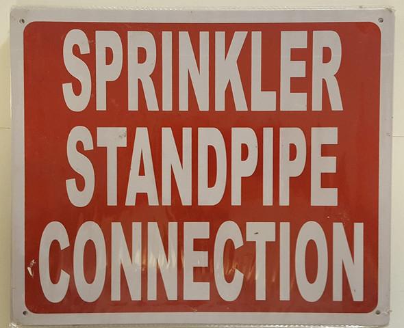 Sprinkler Standpipe Connection  Signage
