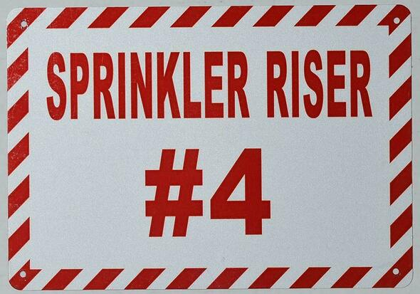 Sprinkler Riser #4