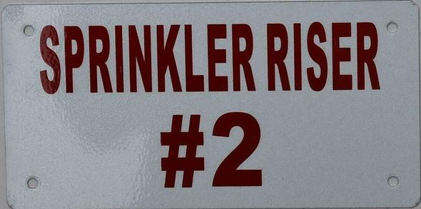 Sprinkler Riser #2  Signage