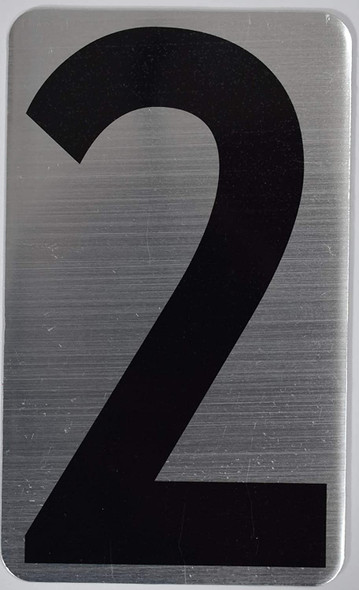 House Number  Signage/Apartment Number  Signage- Two 2