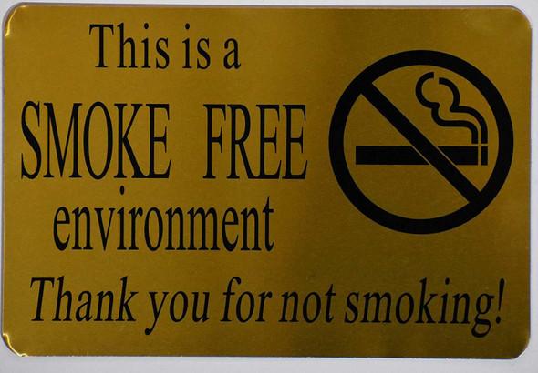 This is Smoke Free Environment