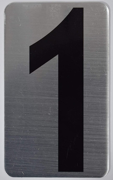 House Number  Signage/Apartment Number  Signage- one 1