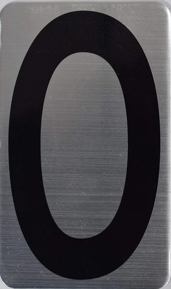 House Number  Signage/Apartment Number  Signage- Zero 0