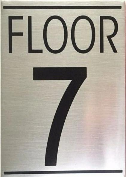 FLOOR SEVEN 7  Signage -Delicato line