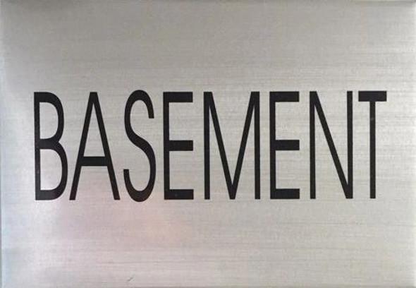 BASEMENT  Signage - Delicato line