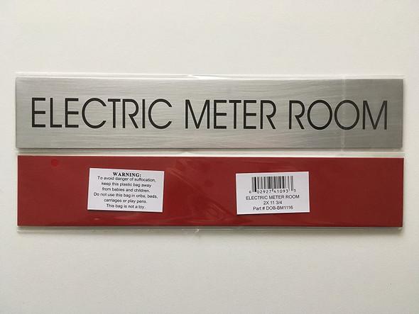 ELECTRIC METER ROOM  - Delicato line
