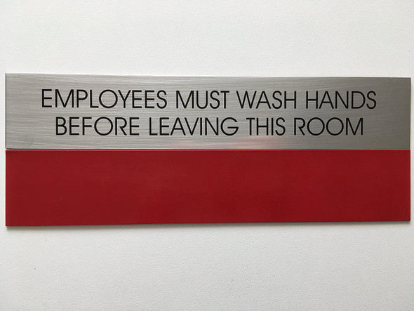 EMPLOYEES MUST WASH HANDS  -