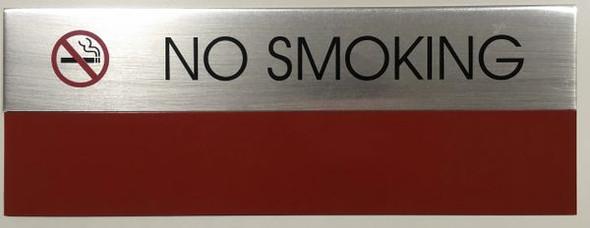 NO SMOKING    -