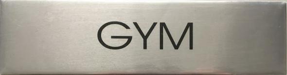 GYM  Signage - Delicato line