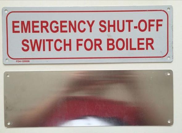 EMERGENCY SHUT - OFF SWITCH FOR BOILER