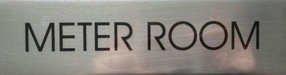 METER ROOM sinage - Delicato line