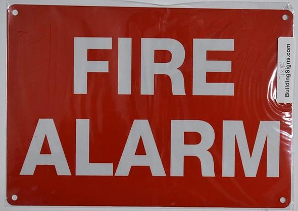 FIRE Alarm sinage