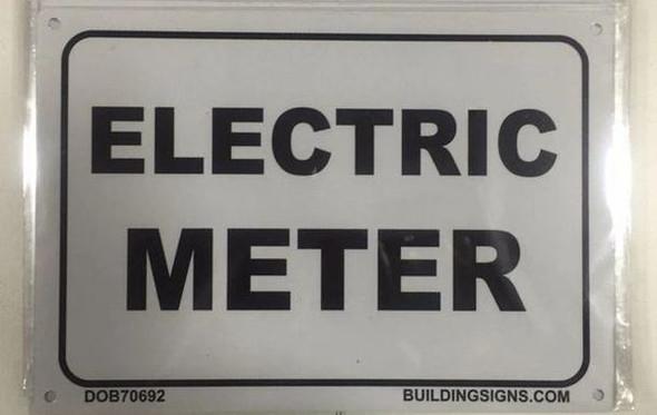 ELECTRIC METER  Signage