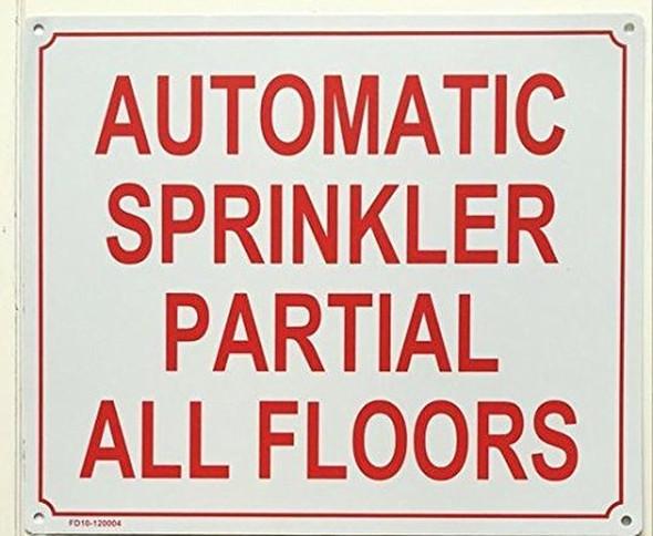 SPRINKLER  Signage