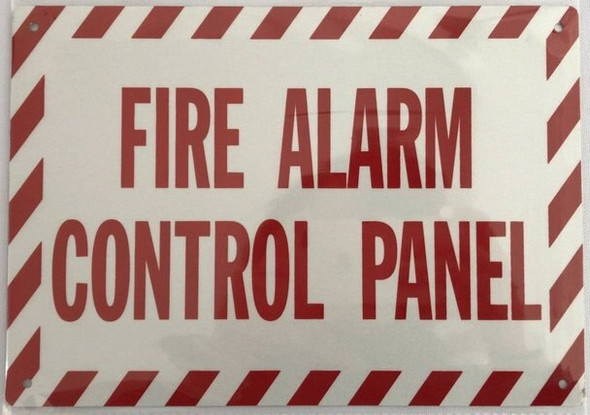 """FIRE Alarm Control Panel""  Signage"