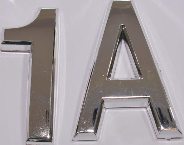 Apartment Number 1A  Signage/Mailbox Number  Signage, Door Number  Signage. Letter C - The Maple line