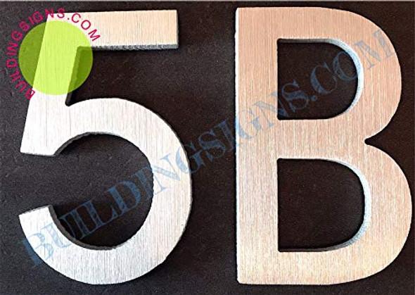 Apartment Number 5b  Signage