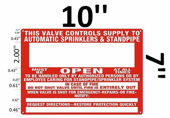 This Valve Control Supply to Automatic Sprinkler